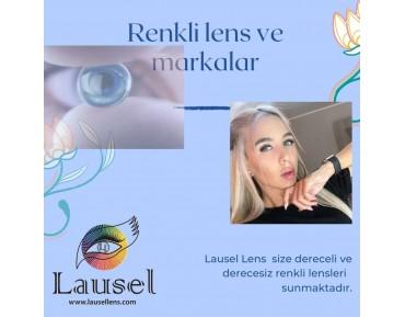 Solatica renkli lens ve Lausel Lens,