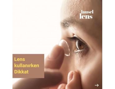 Kontak lens nasıl takılır?